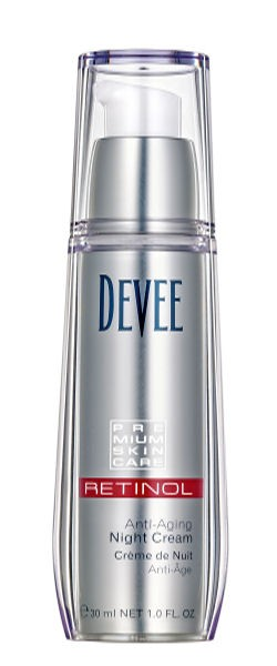 Devee Retinol Night Cream, Nachtcreme, Vitamin A, 30 ml