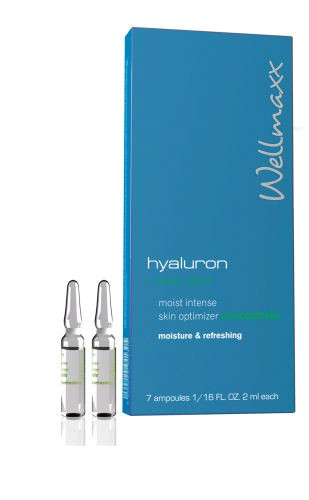 Wellmaxx Hyaluron + aloe vera moist intense skin optimizer concentrate, 2 ml