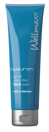Wellmaxx Hyaluron gentle deep clean face wash, 150 ml