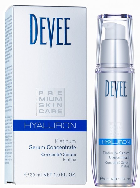 Devee Hyaluron Serum-Platinum Concentrate, 30 ml