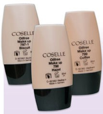 Coselle/Cosart Oil-free Make-up, 30 ml
