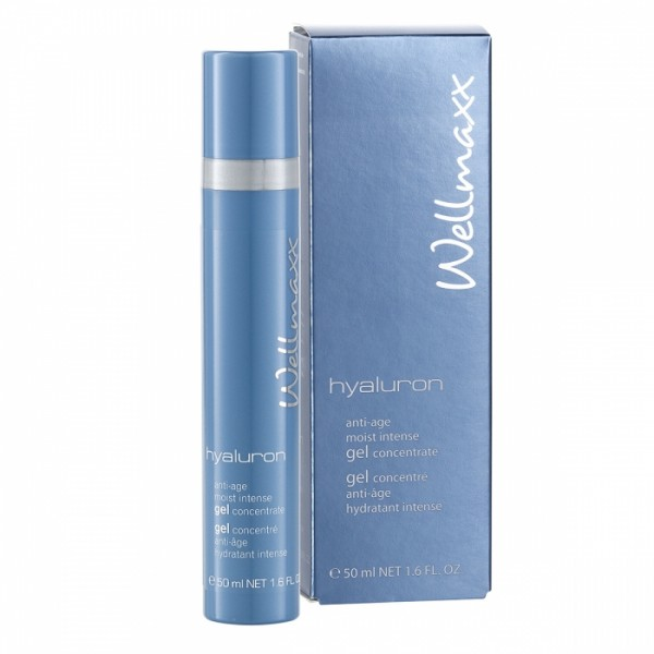 Wellmaxx Hyaluron anti-age moist intense gel Concentrate, 50 ml