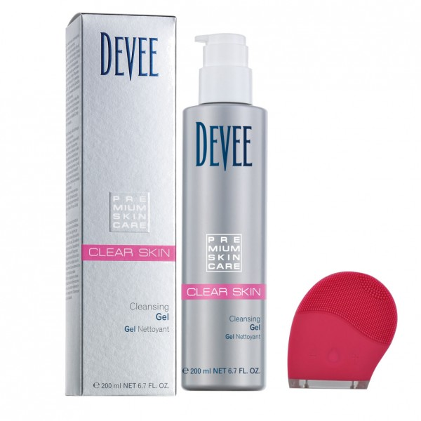 Devee Clear Skin Cleansing Gel + LiFTmee Pulse